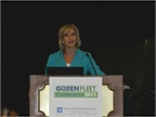 Britta Gross of General Motors gave a keynote speech on Tuesday about