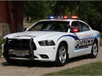 The Belvidere (Ill.) Police Department s Dodge Charger.