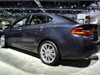 The Dodge Dart earned a five-star safety rating from NHTSA in October