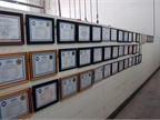 Fleet staff training and certification accomplishments on display at