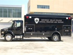 A new SWAT truck was delivered on the day Government Fleet editors