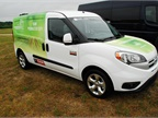 The Ram ProMaster City was among several models on display, decked out