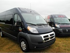 The Ram ProMaster 2500 and 1500 were on display.