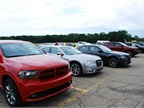 FCA had the entire Chrysler, Dodge, Jeep, Fiat, and Ram lineups available.