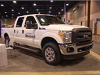 Ford F-250 CNG bifuel OE Wing System by Westport