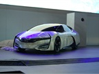 While prepping for the Honda FCEV Concept s reveal, the tarp was blown