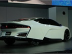 Honda was able to reduce the FCEV Concept s fuel cell stack by 33