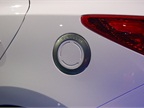 The Hyundai Tucson Fuel Cell s charging port.