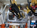 As part of the retooling, 500 all-new robots were installed.