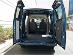 The NV200 offers a maximum of 122.7 cubic feet of cargo volume.