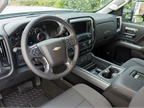 The interior offers leather surfaces and Bluetooth. Our test model