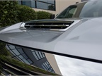 The improved air intake system brings more cool, dry air into the