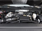 The truck is powered by a 6.6L V-8 Duramax turbo-diesel.