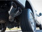 The F-250 offers a 34-gallon fuel tank with the 160-inch wheelbase or