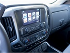 Standard equipment includes a rear-view camera, MyLink audio system,