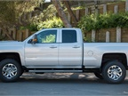 The Silverado 2500 s Double Cab offers a full front door and smaller