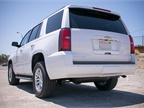 The 2016 Tahoe arrives with a 116-inch wheelbase, 80.5-inch width, and