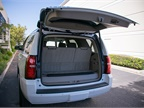 The Tahoe offers 15.3 cubic feet of cargo volume and 94.7 cubic feet