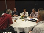Attendees had an opportunity to engage in roundtable discussions of