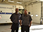 Both technicians Brian Murphy and John Trexler are certified by ASE as