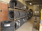 The city keeps about $25,000 in tire inventory.