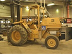 This forklift is in the process of being replaced with a quieter