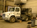The municipal fleet has 16 street sweepers in its fleet while the