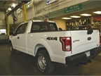 The fleet had just taken delivery of a Ford F-150 with start/stop and