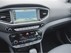 A 7-inch color touchscreen displays navigation, audio information, and