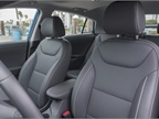 The vehicle includes heated seats.