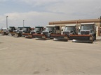 Plows are ready for snow from September to May of each year.