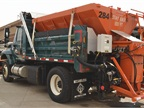This truck is one of the town s larger plow trucks and is shown