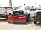 This is one of the light-duty trucks that doubles as a light snow plow