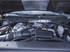 The truck is powered by the 6.6L V-8 Duramax diesel engine, which is a