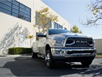 The Ram 3500 HD Limited crew cab retails for around $75,000 MSRP.