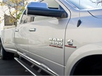 The truck is powered by Cummins  6.7L inline-six turbo diesel paired