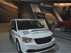 A Ram Cargo Van shows the possibilities of fleet and business