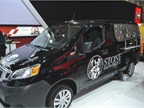 The Nissan NV 200 is designed for upfitting. Here it has been put to