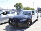 Ford s Police Interceptor was on display.