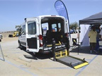 The Ability Center provides wheelchair-accessible vans, including
