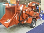 Morbark s M15R brush chipper is used by parks, streets, and urban