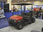 The Toro Workman GTX grounds and turf crossover utility vehicle