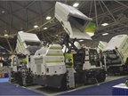 Global Environmental Products  M4 HSD mechanical street sweeper is a