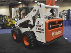 Bobcat s S750 large frame loder can be used with up to 130 attachments