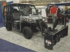 The Polaris Brutus HD PTO can be used with eight different front