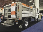 Buyers Products  municipal dump spreader is a combination dump body
