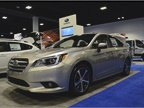 The Subaru Legacy has five-star stafey ratings from the National
