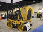 The Volvo DD25B asphalt compactor features a Tier 4 final engine with