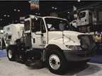 Tymco s Model 600 uses regenerative air street sweeping, which allows