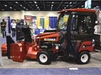 The Steiner 450 tractor can handle 20 jobs -- anything from mowing